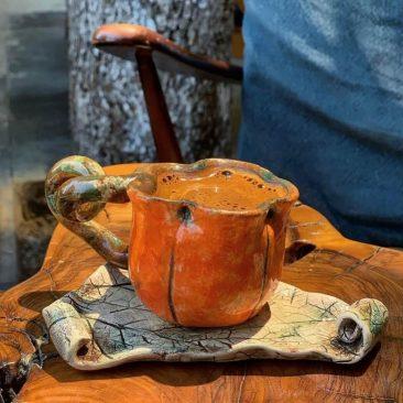 türk kahvesi fincanı seramik